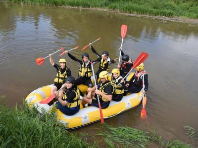 Rafting on Olt