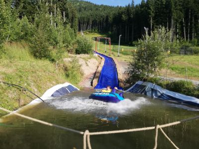 Summer Tubing in TUSNAD FUN PARK
