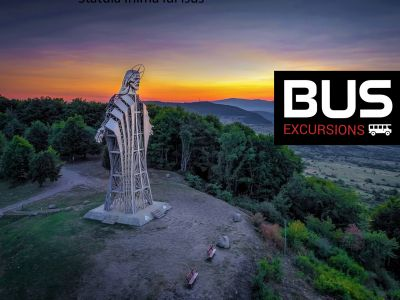 Day Excursions by bus: Tusnad Bath - Zetea See - Mini Transylvania Park - The Heart of Jesus Statue