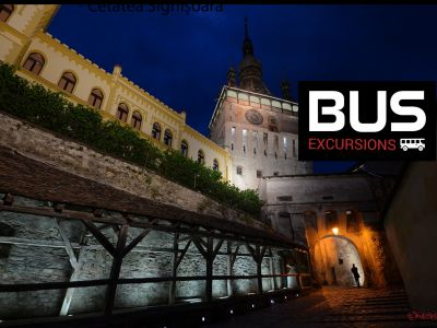 Day Excursions by bus: Tusnad Bath - Smarald lake - Rupea fortress - Historic Centre of Sighişoara